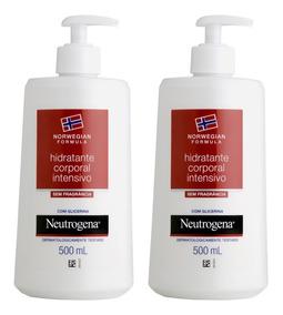 Hidratante Neutrogena Norwegian Body 500ml Com 2 Unidades