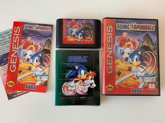 Mega Drive - Sonic Spinball - Sega Genesis Master Tec Toy