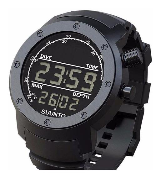 Relógio Suunto Elementum Aqua Black Mergulho Ss014528000 Nfe