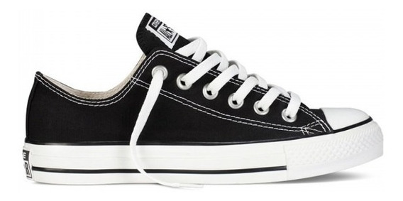 Tênis Converse All Star Ox Preto As Ct00010002