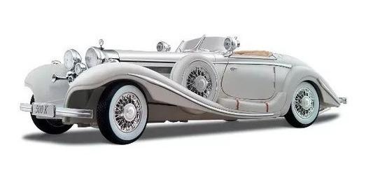 Carro Coleção Mercedes Benz 500 K Typ 1936 Escala 1/18