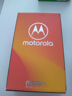 Motorola E5 Play (android Go Editions) 16 Gb Preto