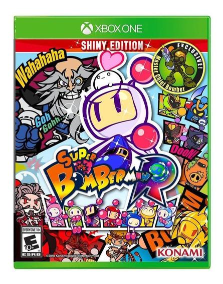 Super Bomberman R Xbox One Midia Fisica + Nota Fiscal