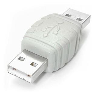 Adaptador Cable Usb Macho - Usb Macho Blanco Startech
