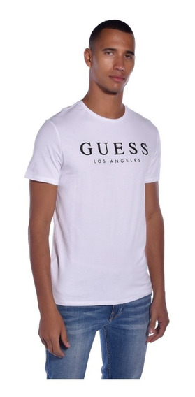 Playera Slim Fit Guess Multicolor M93i55j1300 Hombre