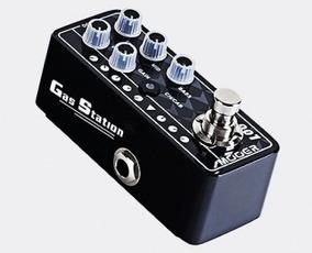 Pedal Mooer Gas Station M001 Pré Amp Para Guitarra + Brindes
