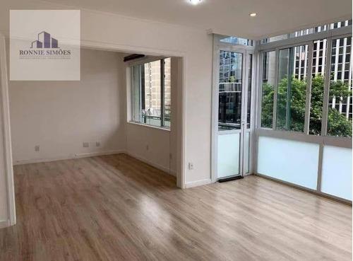 Apartamento Para Alugar Na Avenida Paulista, Condomínio Edifício Chypre, 5 Dormitórios, 2 Salas, Varanda Ampla, 2 Banheiros, 150 M², São Paulo. - Ap1169