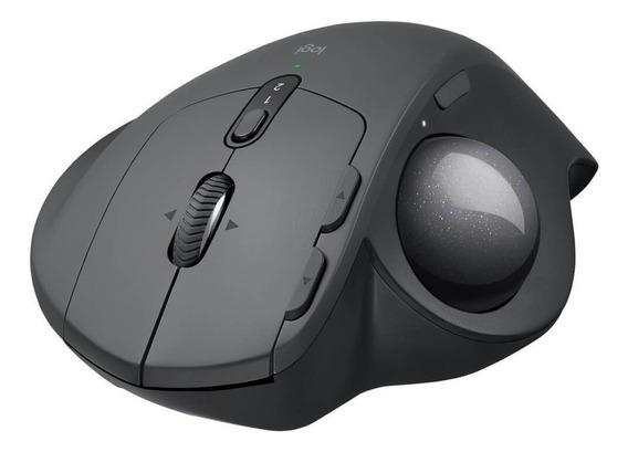 Mouse Logitech Mx Ergo Sem Fio Recarregável - Flow Unifying