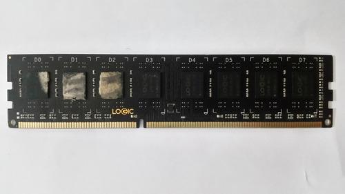 Memória Ram Logic Ddr3 8gb 1600mhz (com Detalhes)
