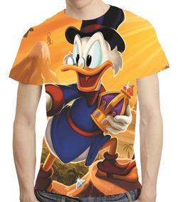 Camisa Desenho Camiseta Tio Patinhas - Estampa Total
