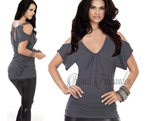 Blusa Feminina Grande Em Malha,camisetas,plus Size,tule,body