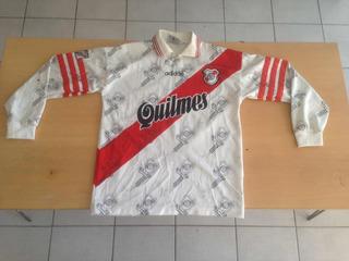 diseñador de moda tienda oficial tienda oficial Camiseta De River Plate 1996 Manga Larga - Fútbol en Mercado ...