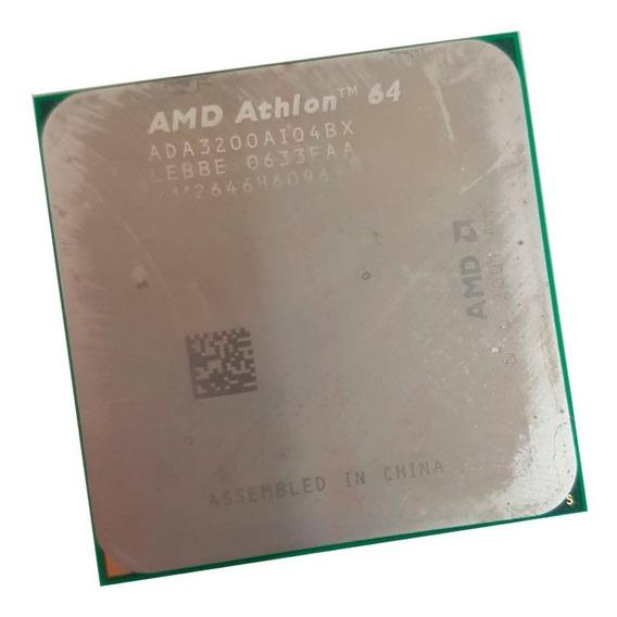 Processador Amd - Athlon 64 3200+ 2.2ghz Soquete 754 Novo