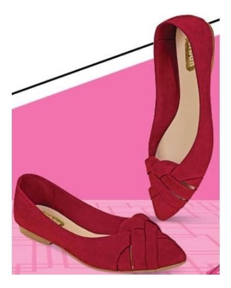Zapato Casual Flats Color Rojo 700-24 Cklass Urban 2-19 E