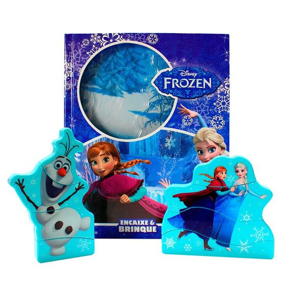 Livro Disney - Frozen - Encaixe E Brinque - Melhoramentos