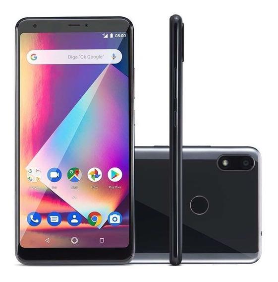 Smartphone Multilaser Ms60z Tela 6 2gb Ram 16gb Preto