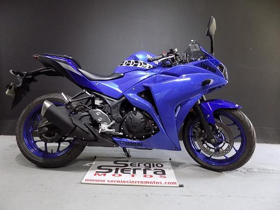 Yamaha R3 Azul 2016