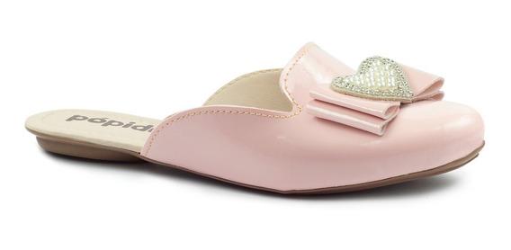 Sapatilha Mule Infantil Feminino Menina Sapato Tamanco 53