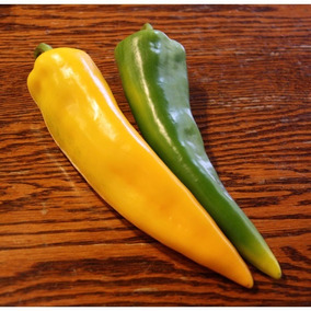10.000 Sementes Da Pimenta Amarela Comprida Rara Exótica