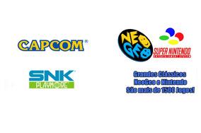Todos Os Clássicos Do Super Nintendo E Do Neogeo ( 16 Bits )