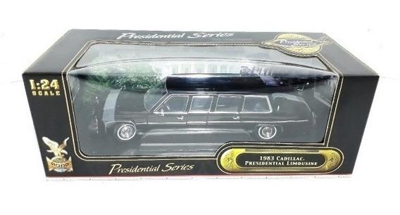 Limousine 1/24 Cadillac 1983 Reagan Yatming 27 Cm Topminis