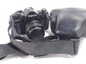 Kit Canon A1 Mala Proffi, 2 Lents Flash,filtros Cokin,manual