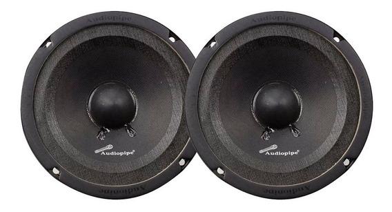 2 Parlante Medio Audiopipe 6 Apmb638sb 300 W 150 Rms