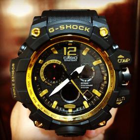 Relogio Analogico E Digital Casio G-shock Dourado