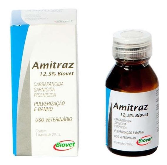 Antiparasitário Biovet Amitraz 12,5% - 20 Ml