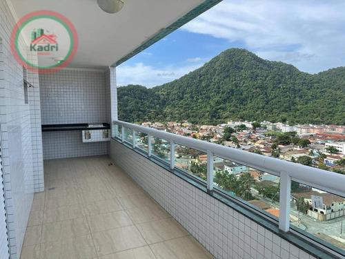Imagem 1 de 30 de Apartamento Com 3 Dormitórios À Venda, 128 M² Por R$ 800.000 - Canto Do Forte - Praia Grande/sp - Ap5574