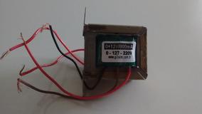 Transformador (trafo) 0 + 12v/800ma Vertical Gilsom Bivolt