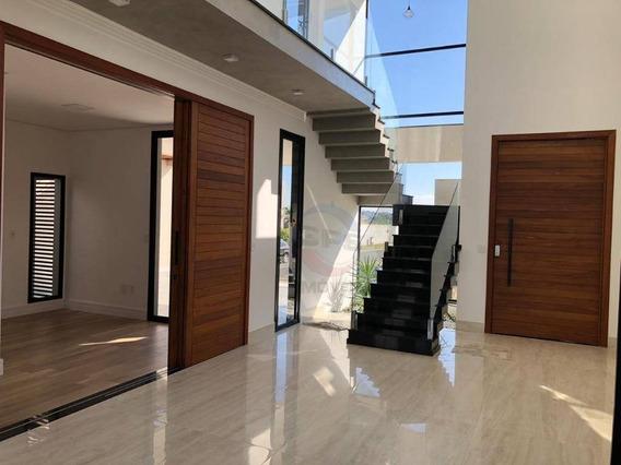 Casa Nova Com 3 Suítes À Venda, 263 M² Por R$ 1.400.000 - Condomínio Dona Lucilla - Indaiatuba/sp - Ca11371