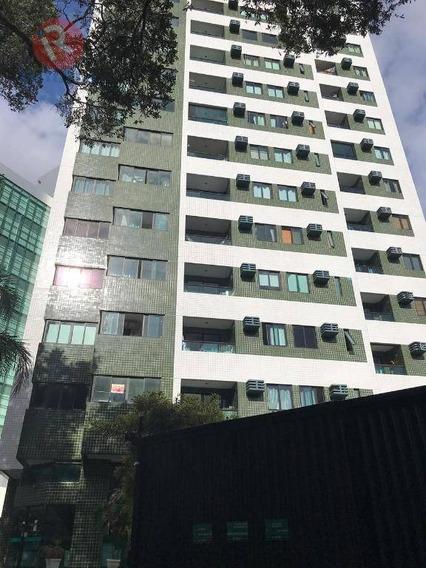 Apartamento Com 1 Dormitório Para Alugar, 44 M² Por R$ 1.600/mês - Espinheiro - Recife/pe - Ap3274