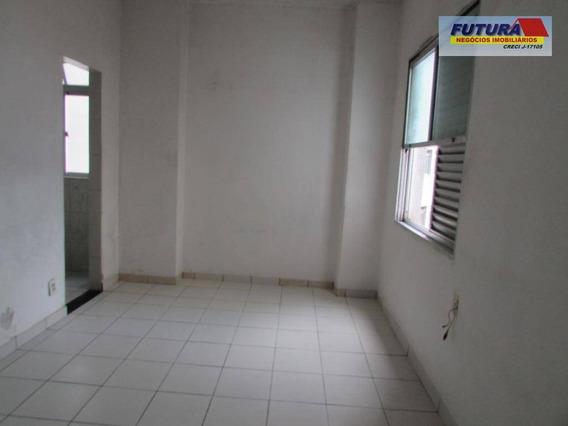 Kitnet Com 1 Dormitório À Venda, 28 M² Por R$ 115.000,00 - Gonzaguinha - São Vicente/sp - Kn0102