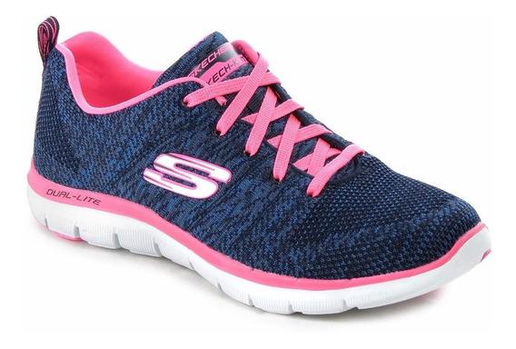 Zapatillas Skechers Flex Appeal 2.0 12756 Mujer Memory Foam
