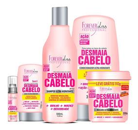 Forever Liss - Kit Desmaia Cabelo Com Máscara 350g 5 Itens