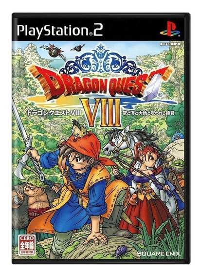 Dragon Quest Viii Journey Of The Cursed King Ps2 Japonês