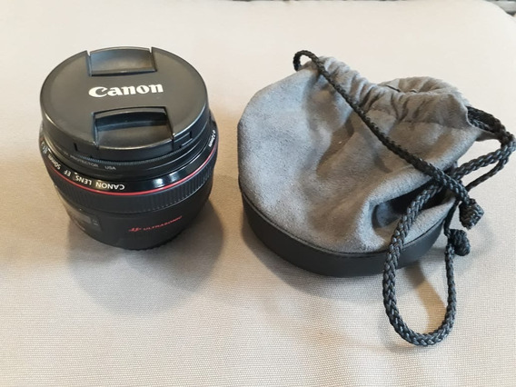 Lente Canon 50 Mm 1.2