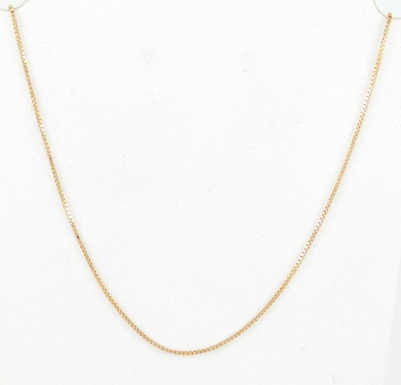 Esfinge Jóias - Corrente Veneziana 45cm Ouro Amarelo 18k 750