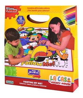 Alfombra Tela Artistica Color Mat Mickey (6269)