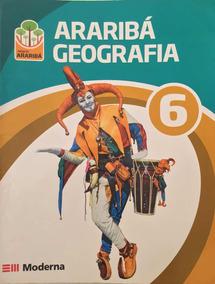 Kit Livros Arariba Geografia 6 + Guía De Estudo 6