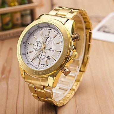 Relógio Dourado (frete Grátis)