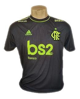 Camisa Flamengo Mengão Branca Cinza Goleiro Diego Alves 2019