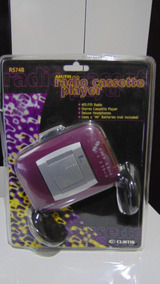 Walkman (rádio Am-fm+fita K-7) *curtis Rs74b. Novo! Lacrado!
