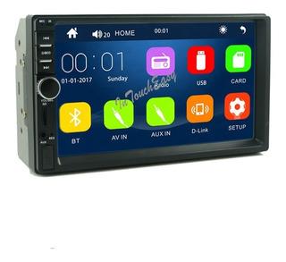 Auto Radio Full Hd 1080p Usb Sd Bt + Espejo(android) V7 2019