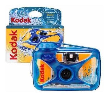 Câmera Analógica Descartável Kodak Sport Prova D