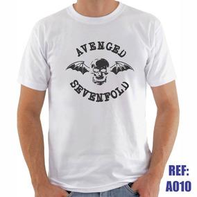 b4d1031ba4 Camisetas Rock Shirts Avenged Sevenfold Tamanho P - Camisetas ...
