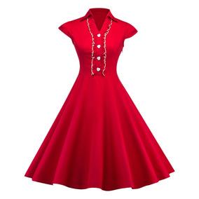 96cf0522d9ee Vestido Fiesta Largo Con Short Abajo - Ropa y Accesorios Rojo en ...