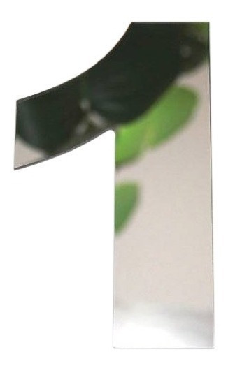 Numeros De Acero Inoxidable 6cm Espejo Domicilio Casa