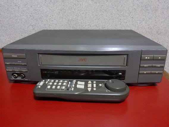 Video Cassete Jvc - No Estado - Com Manual
